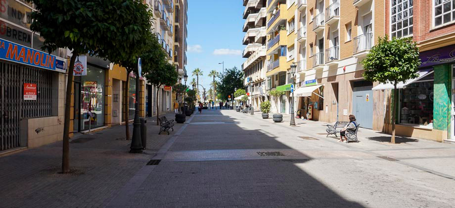 Local con escaparate en pleno centro de Huelva